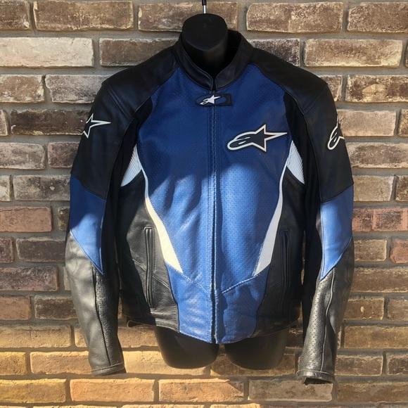 70aef0a18 Alpinestars leather Motorcycle Jacket size 40 M